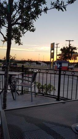 Aledo, TX: sunset on the patio