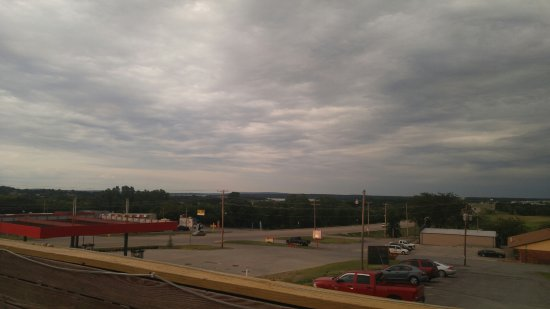 Mannford, OK: view fron the balcolny