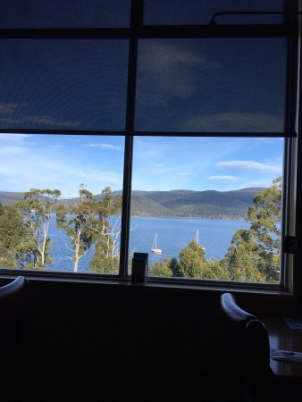Dover, Australia: Hearty Food amazing view