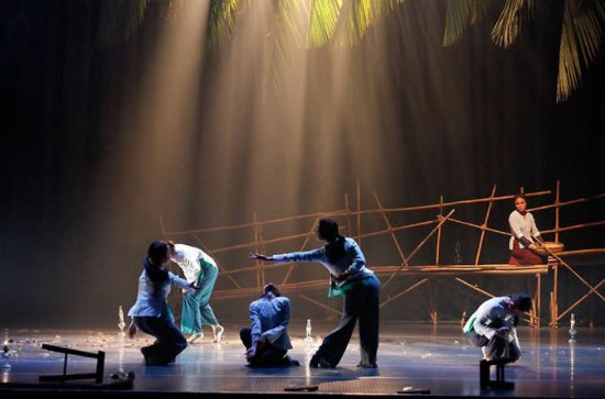 THE MIST DANCE SHOW IN SAIGON WITH ...