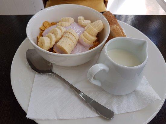 Remuera, New Zealand: hotel brakfast