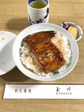 Isesaki, Jepang: ランチ限定1000円のうな丼 うなぎの身はふわっと柔らかくご飯もホカホカ 次回はうな重