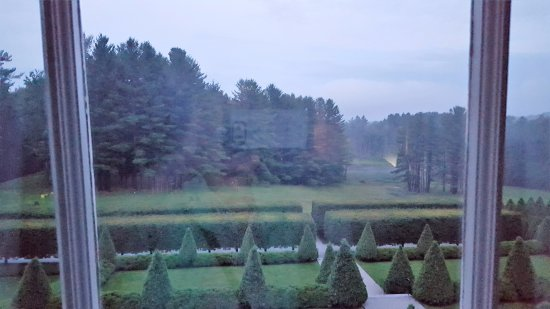Lenox, MA: One view of the beautiful gardens.