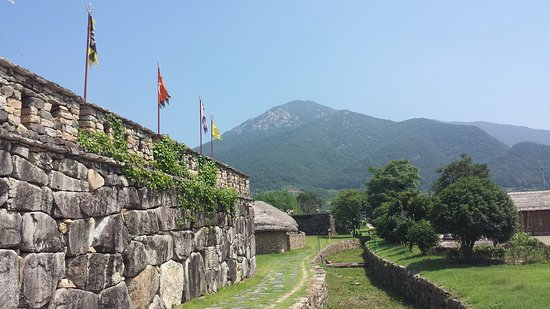 Suncheon, Corea del Sur: Nagan Eupseong Folk Village