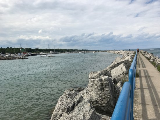 Lexington, MI: View from the pier