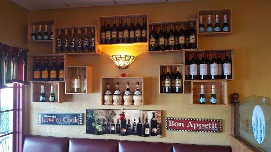 เอลคาโฮน, แคลิฟอร์เนีย: Wine Wall Decorations