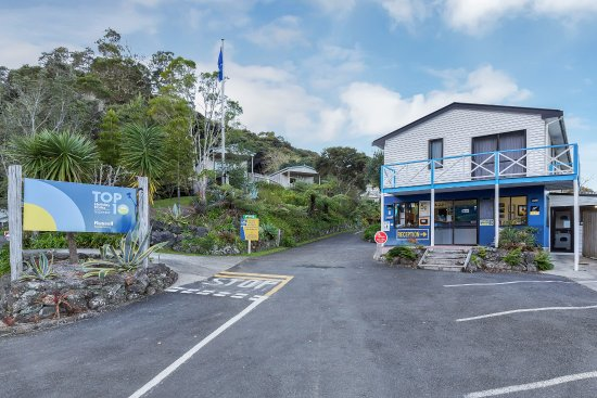 Russell TOP 10 Holiday Park: Park Entrance
