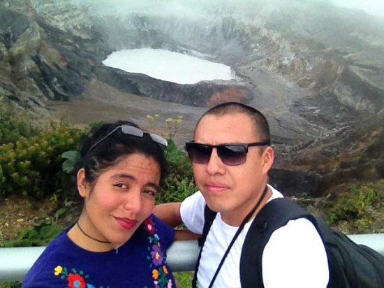 Obraz Poas Volcano National Park