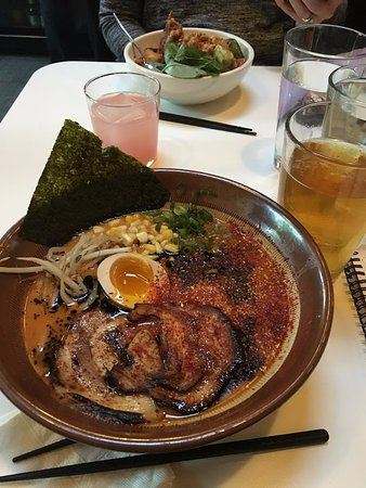Newton, MA: Spicy Miso Ramen with Orion Beer