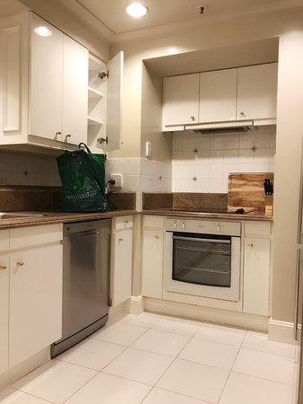 The Langham, Melbourne: kitchen