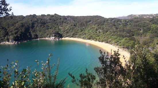 Marahau, New Zealand: View from high point Abel Tasman National Park