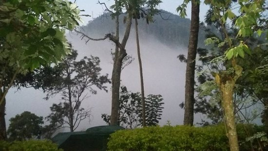 Rukmal Holiday Home: The mist sometimes creeps up in the evening, so gorgeous to watch!