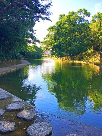 Ryutan Site: 環境相當清幽寧靜,池邊景致讓人忘卻塵囂。