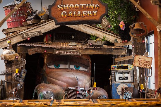 Shooting Gallery = lots of fun! - Picture of Independence