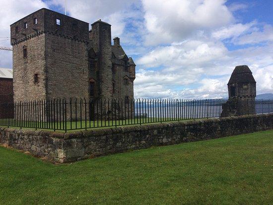 Port Glasgow, UK: Newark  Castle standing proud
