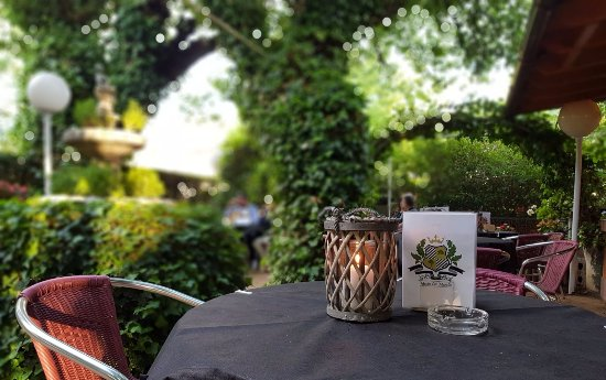 Mesón - Restaurante Los Morales: Terraza - Jardín