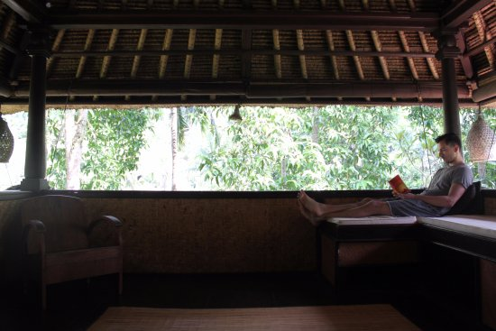 Mas, Indonezja: Reading nook in Bima suite