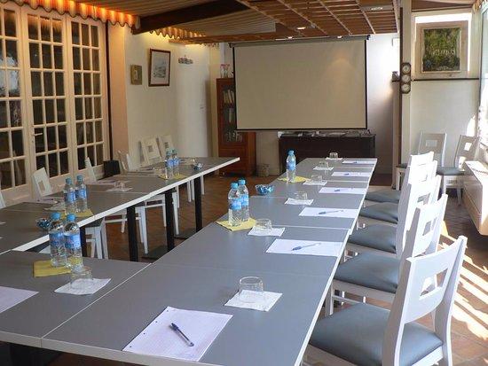 Hotel Les Alizes Biarritz : Salle de réunion