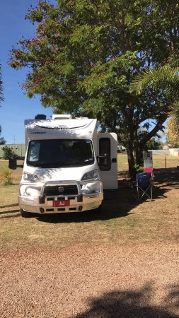Barcaldine, Australien: Excellent park and clean ammenities