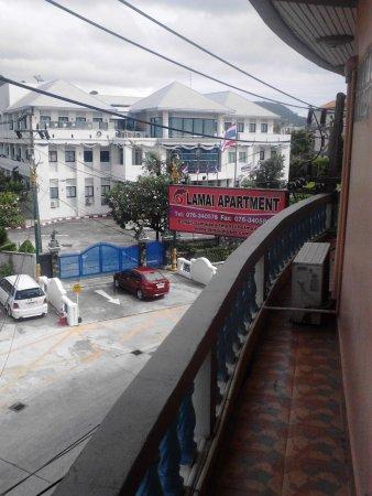 Lamai Apartment: курительный балкончик, пепельницу взять из номера