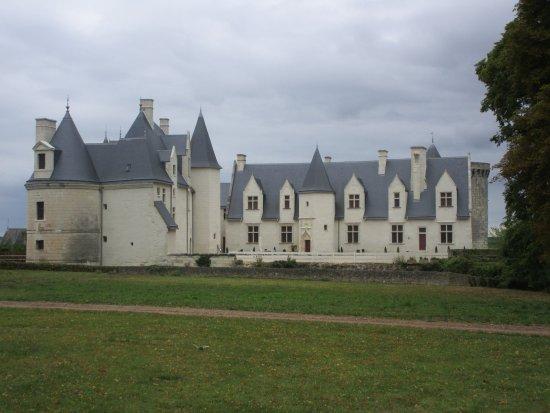 Indre, França: vu du parc