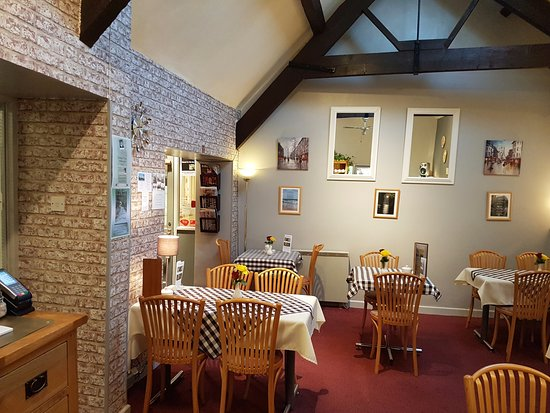 The Old Bakery Tearoom: Welcome to our bright and clean tearoom