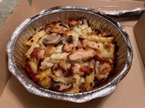 Chicken Carbonara Dominos