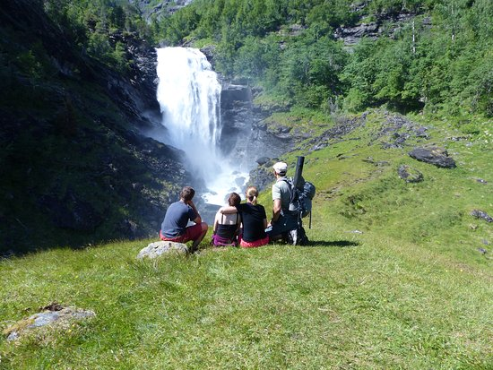 Skjolden, Norge: Travellers with teens