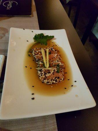 SHIZEN Japanese Fusion Restaurant: salmone in salsa teriaki