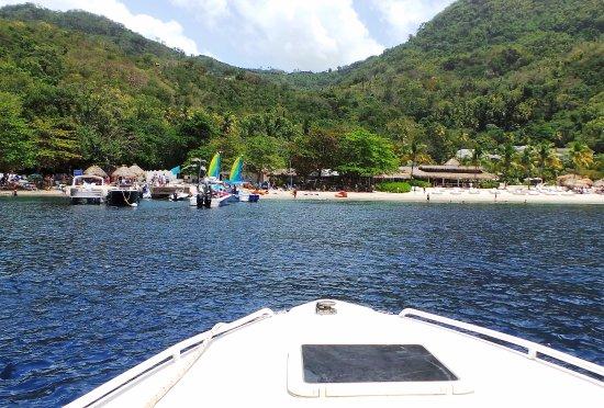 Vieux Fort, St. Lucia: Arrivo a Sugar Beach