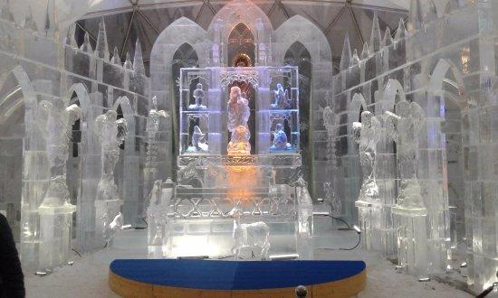 Stary Smokovec, Slovakia: Ice Cathedral