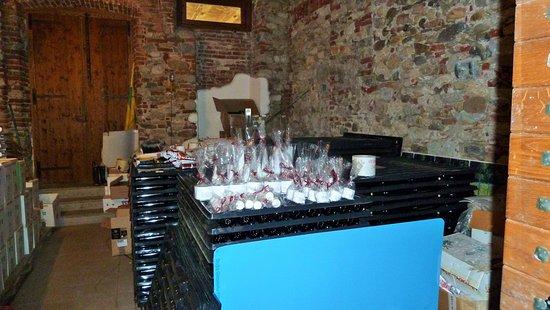 Borgomanero, Italia: Esposizione creme e saponi