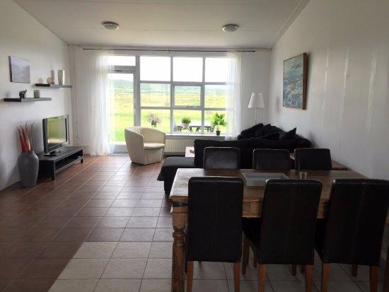 Budardalur, IJsland: Living room