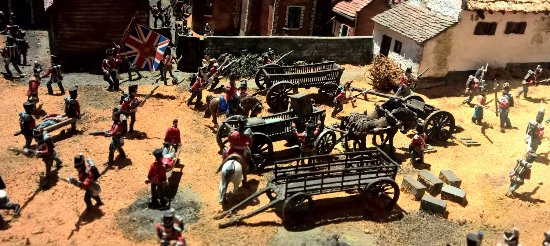 Coldstream, UK: Battle Model