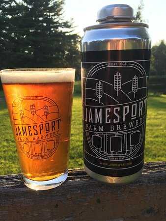 Riverhead, Estado de Nueva York: Jamesport Farm Brewery