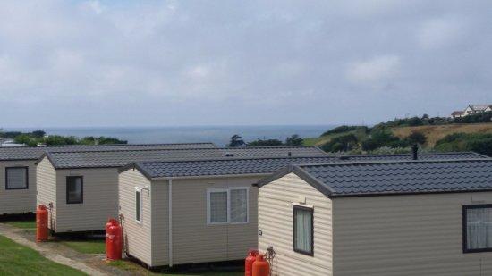 Widemouth Bay, UK: Caravan Park
