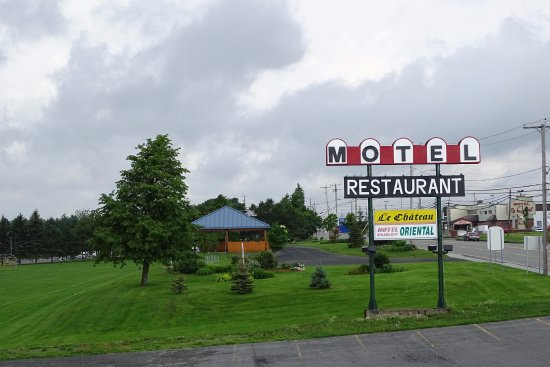 Lac-Megantic, Canada: Can't miss the motel sign!