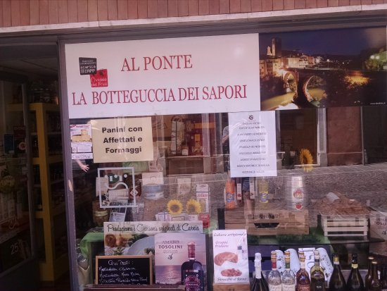 Al Ponte La Botteguccia Dei Sapori