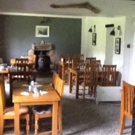 Gwinear, UK: new dining room