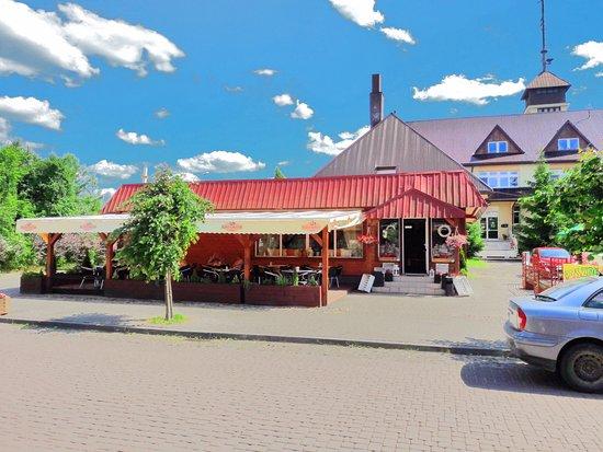 Suprasl, Polen: Widok od ulicy