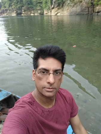 Meghalaya, India: Boating at Dawki river