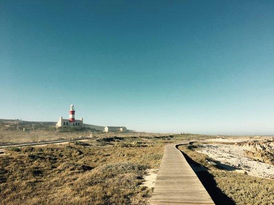 Cape Agulhas, Sudáfrica: Aussicht auf den Leuchtturm