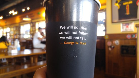 California, MD: Quote on my cup
