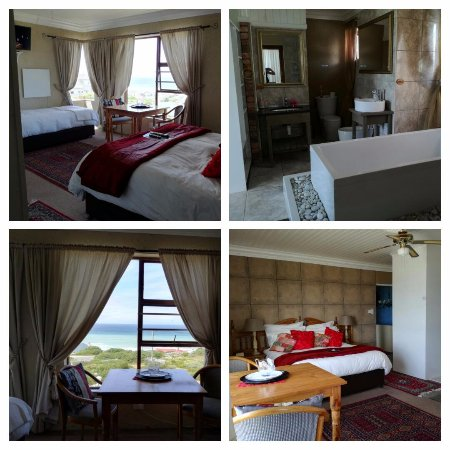 ‪‪Struisbaai‬, جنوب أفريقيا: Exstra Large Room / RED ROOM/ Honeymoon Suit, Full seaview, DSTV, Free wi-fi, electrick blanket,‬