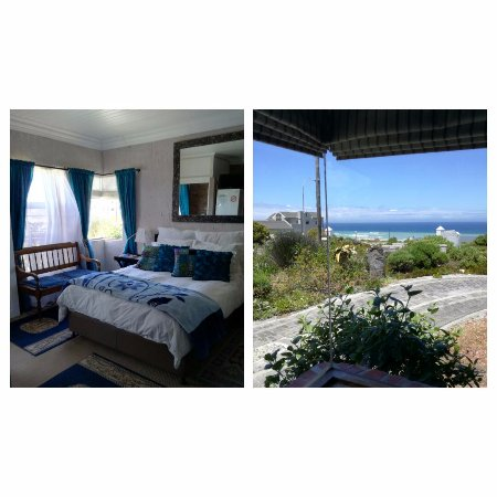‪‪Struisbaai‬, جنوب أفريقيا: Double Room with Corner Seaview, en-suite bathroom, DSTV, warm blanket, Free wi-fi , coffee & Te‬