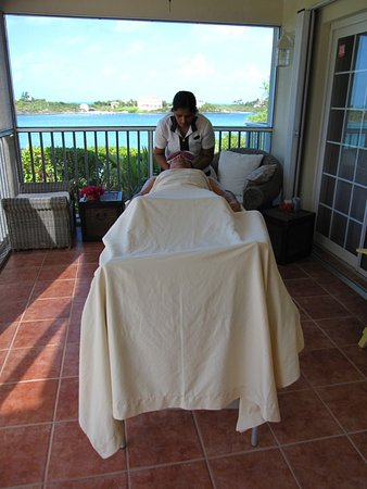 Massage From Spa Tropique At Villa Picture Of Spa Tropique