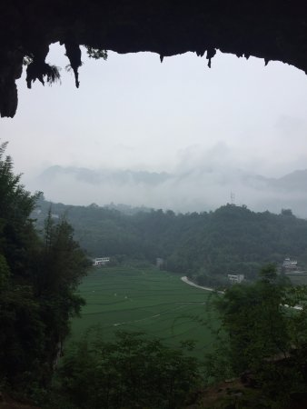 Real China Travel: the farmland view from the mountain