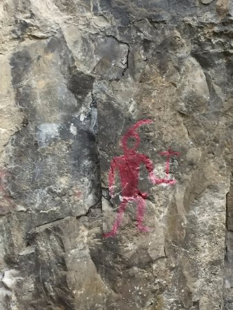 Real China Travel: the ancient paintings left on the rock