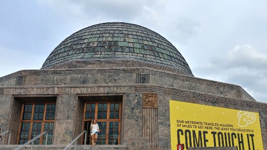 Adler Planetarium outside