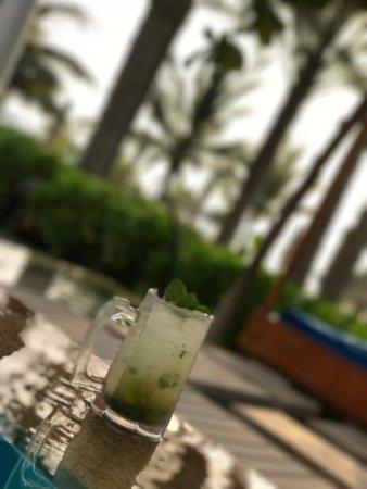 The Ritz-Carlton, Dubai: Best Drinks from Bartender ROBBER( fresh Mojito and LongIsland)